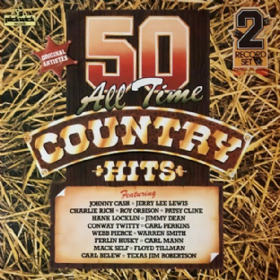 V/A - 50 All Time Country Hits (LP) (VG/VG)